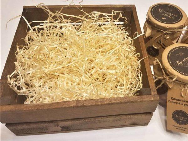 Декор коробки для подарка