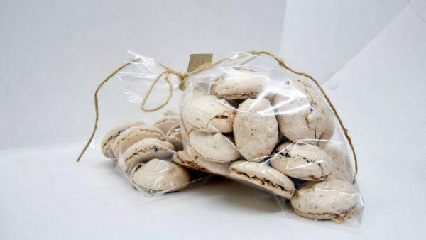 Шоколадно-ореховые меренги